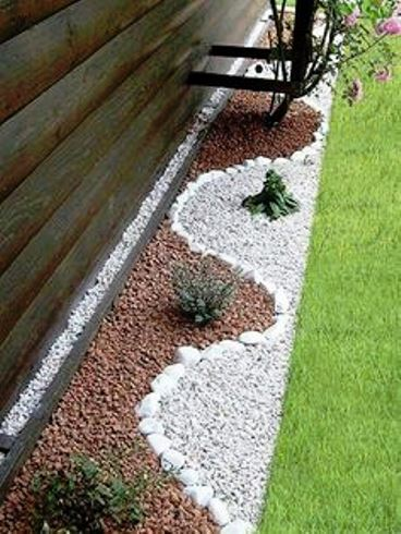 Ciottoli sassi e pietre per arredare il giardino a roma e for Sassi piatti per giardino